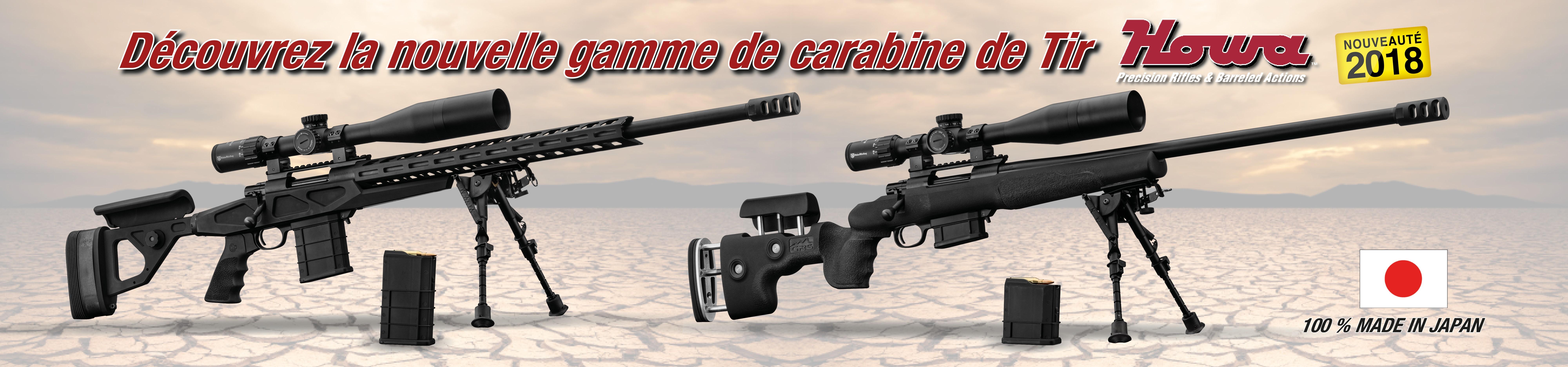 Carabine de tir a longue distance HOWA cal.308 Win