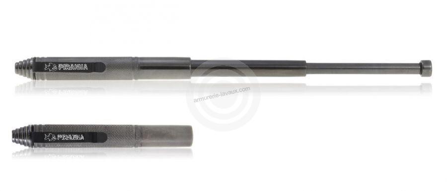 Matraque télescopique de poche PIRANHA 32 cm