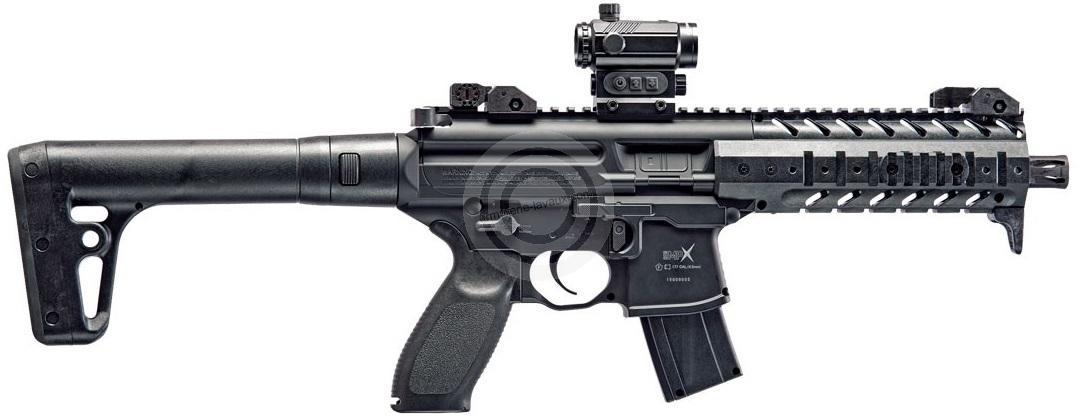 Carabine Co2 SIG SAUER MPX Black