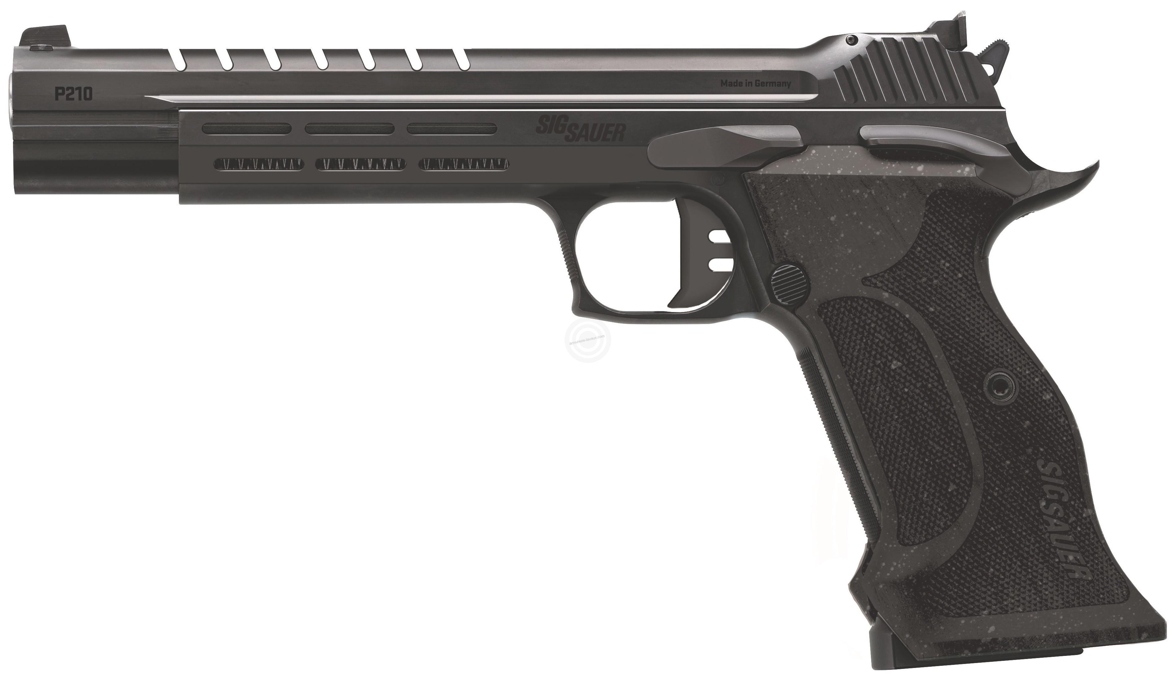 Pistolet SIG SAUER P210 Super Target SKELETON cal.9x19