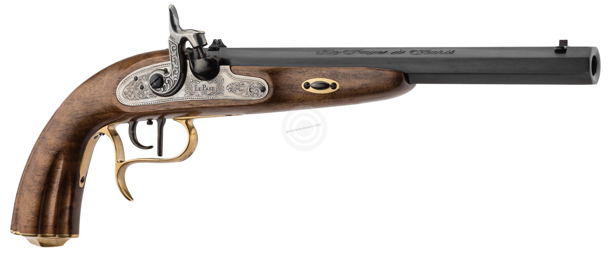 Pistolet de duel Lepage Napoléon 1811 CHIAPPA à percussion cal.45