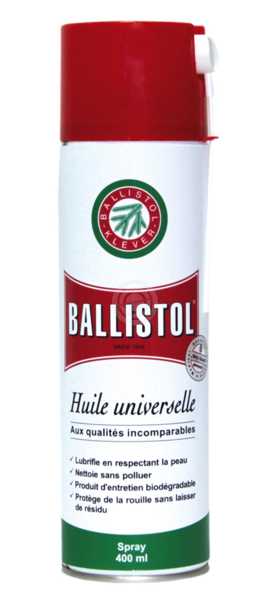 Bombe BALLISTOL huile universelle 400ml