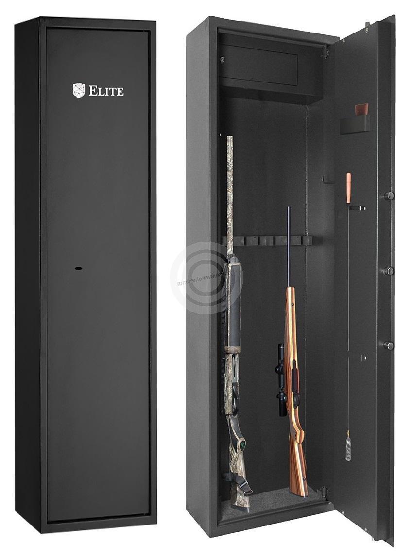 Coffre ELITE ALPHA 6 armes avec coffre intérieur (48kg)