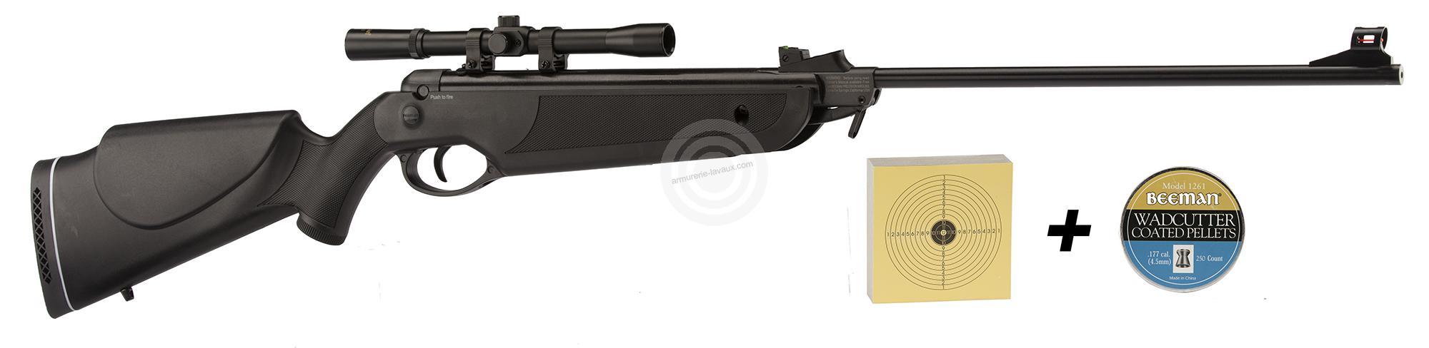 Carabine à plombs BEEMAN BAY CAT Cal.4,5 mm