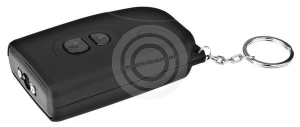 Pistolet electrique Shocker KEYSCHOCK rechargeable par USB 2 200 000 Volts
