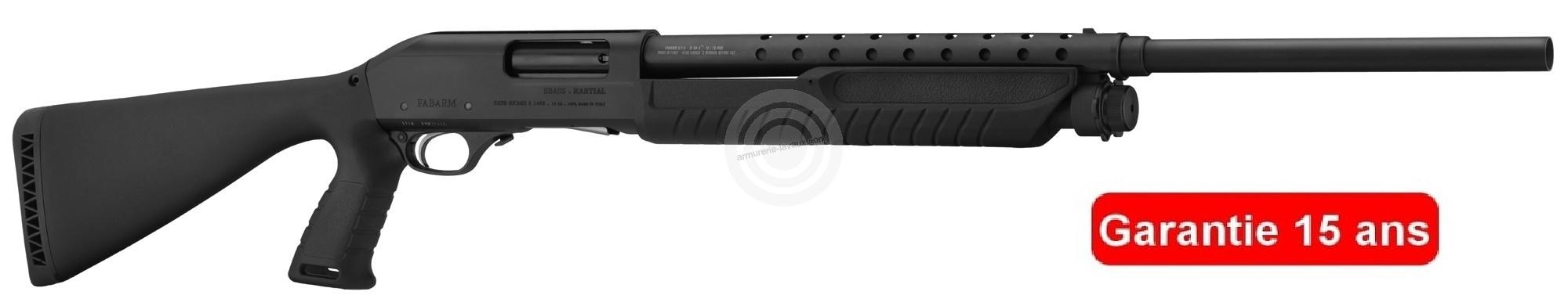 Fusil à pompe FABARM SDASS MARTIAL cal.12/76