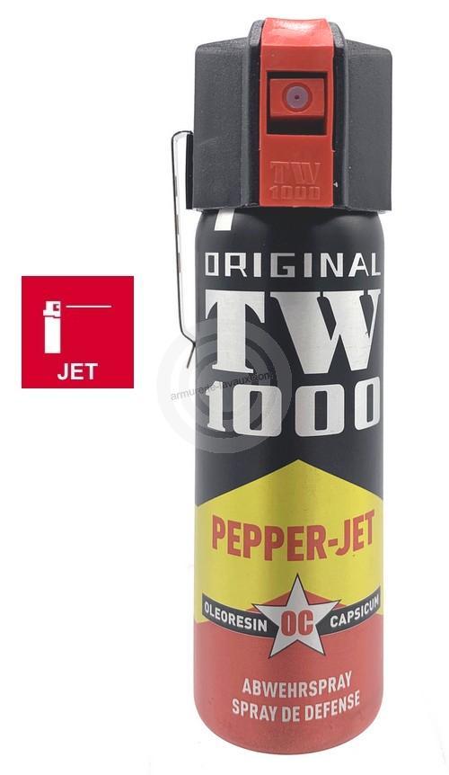 Bombe lacrymogène TW1000 PEPPER JET Classic