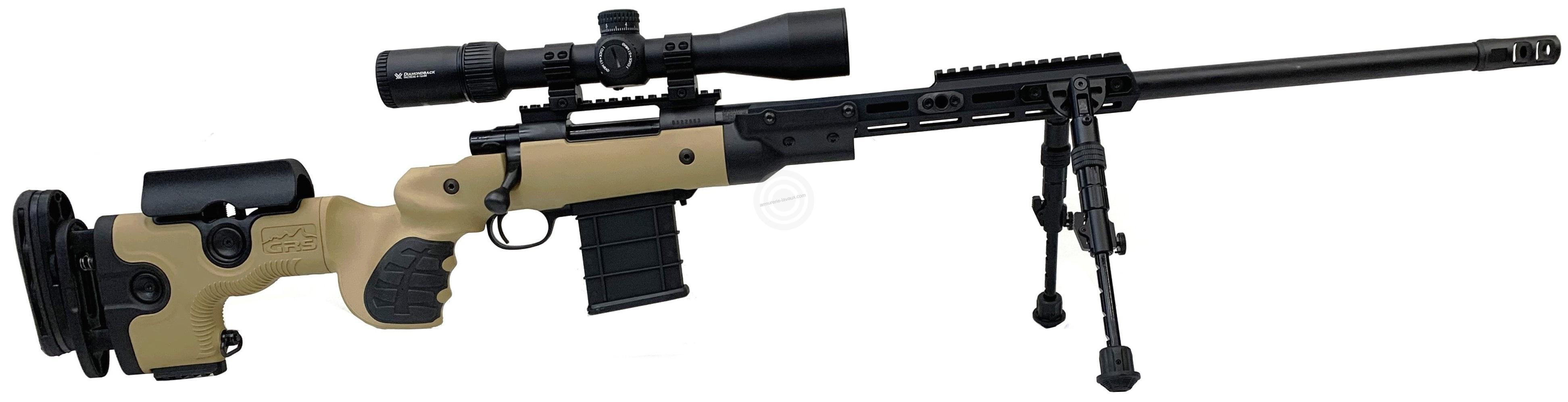 HOWA GRS WARG Chassis Rifle Marron cal.308 Win