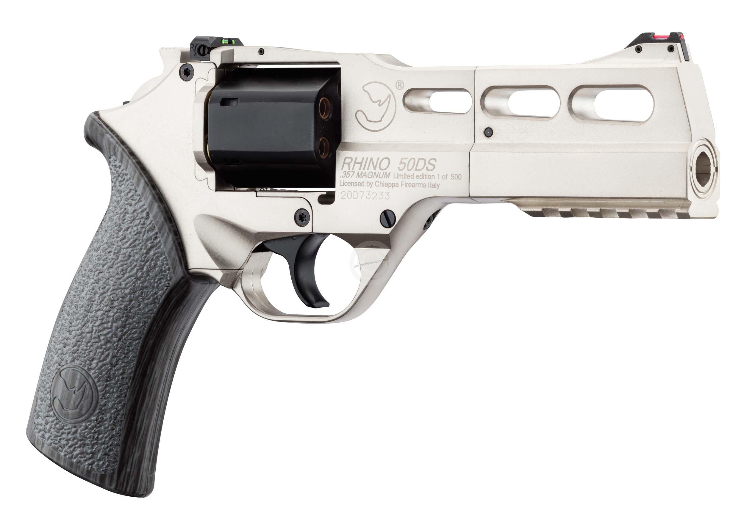 Revolver CHIAPPA Rhino 50 DS Silver