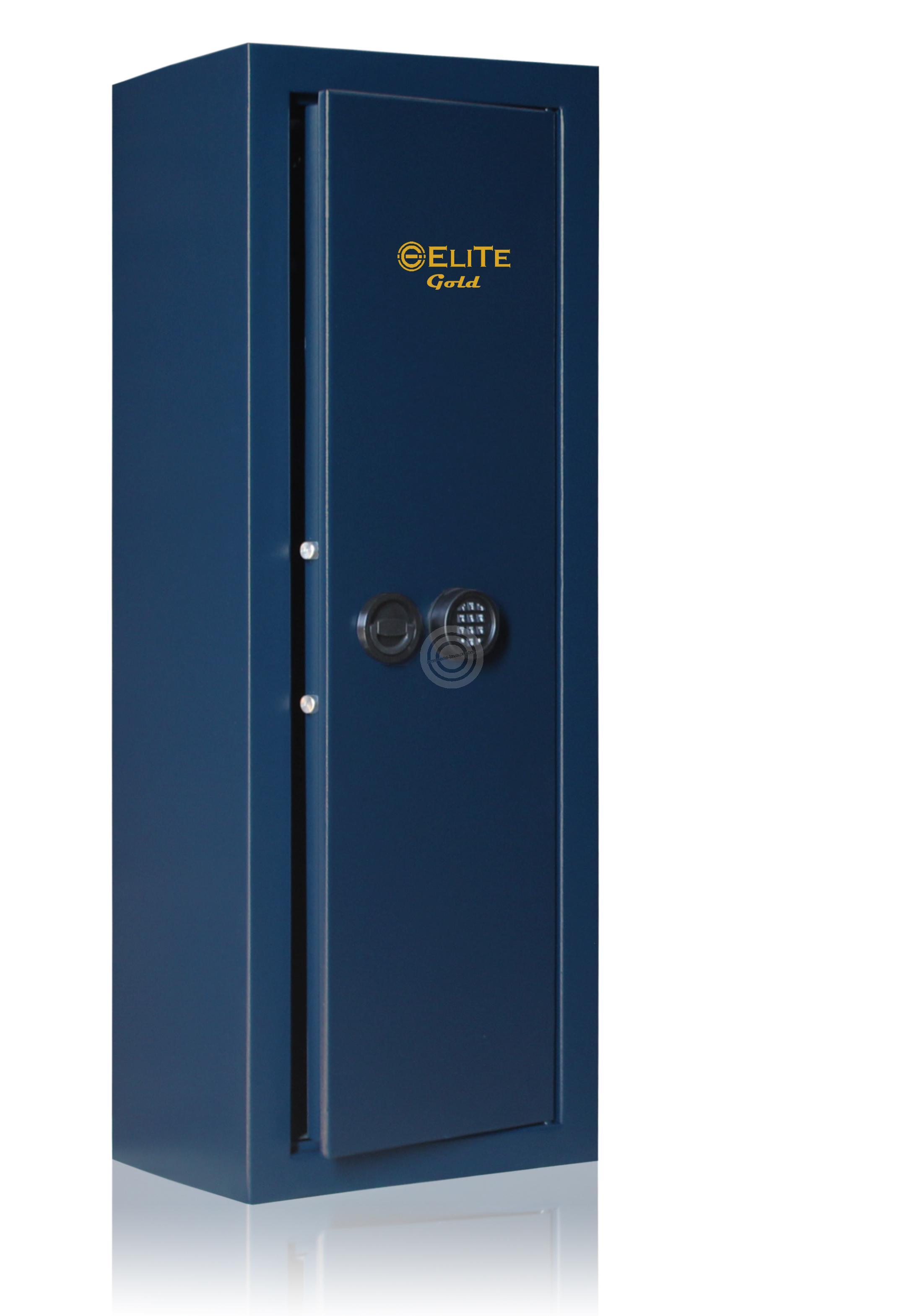 Armoire Forte Elite Gold 6 Armes Avec Lunettes 118 Kg