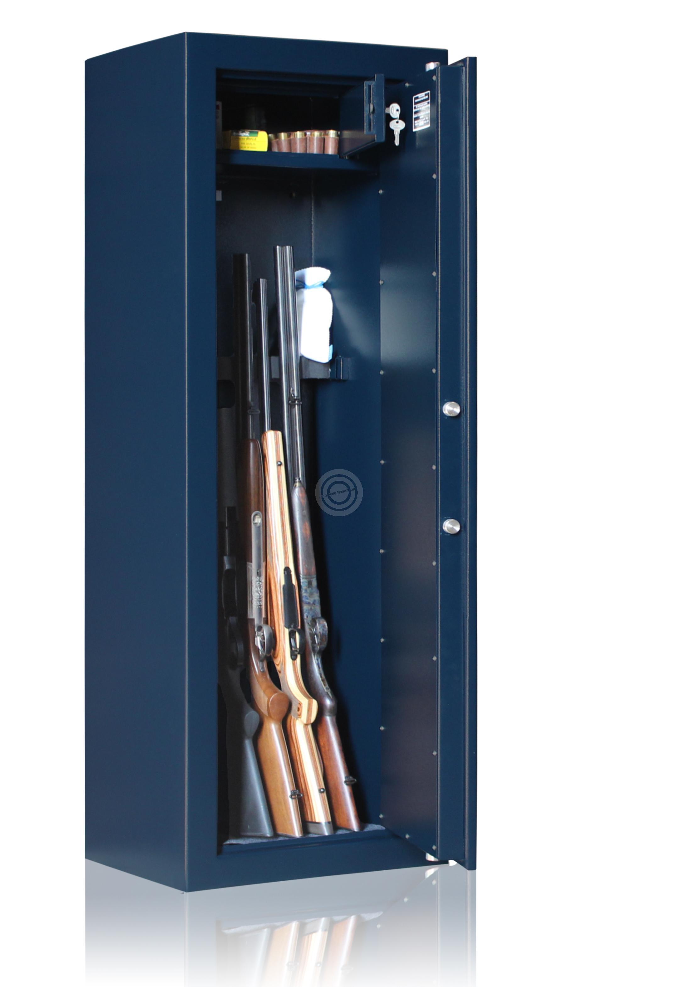 Armoire forte REMINGTON Gunmaker IV-6 armes avec lunettes (118 kg)