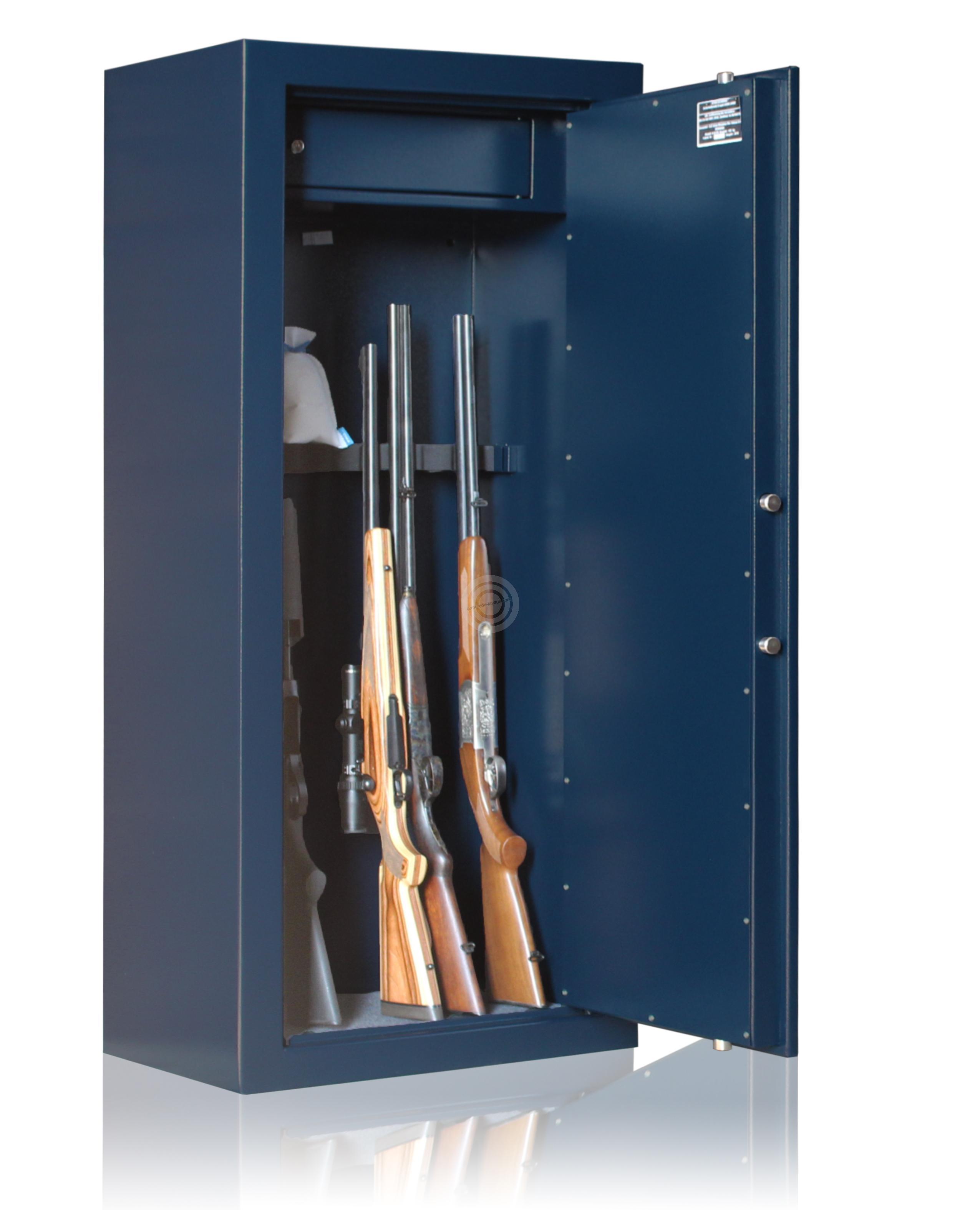 Armoire forte REMINGTON Gunmaker IV-8 armes avec lunettes (133 kg)