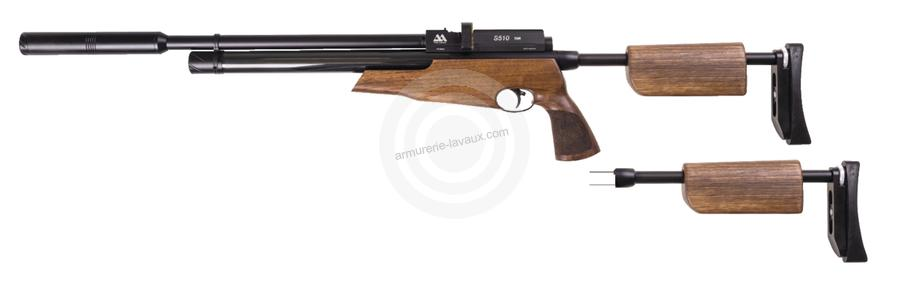 Carabine PCP AIR ARMS S510 TDR démontable cal.4,5mm 19j