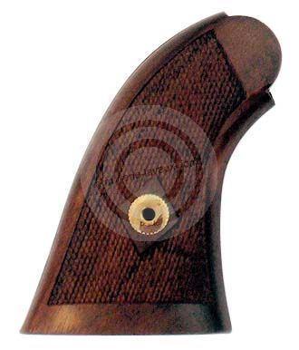 Crosse noyer quadrillée pour revolver PIETTA Remington 1858