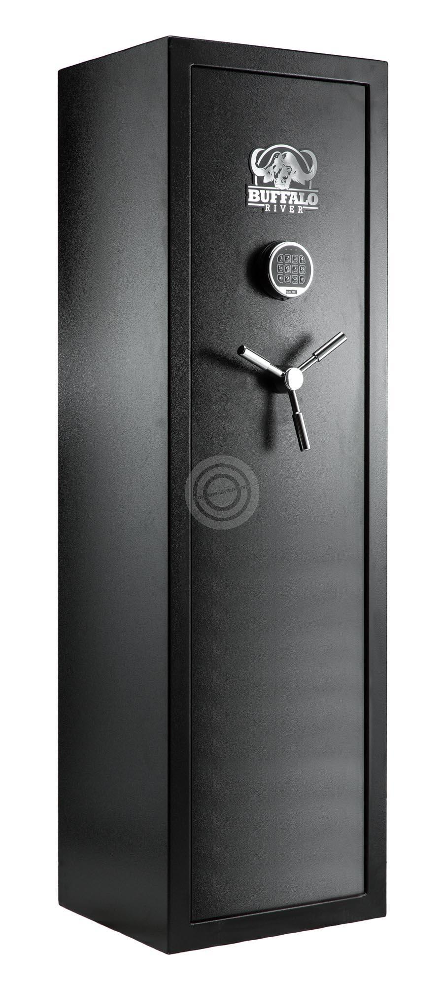 Coffre BUFFALO RIVER Digital Premium 10 armes avec lunettes (80kg)