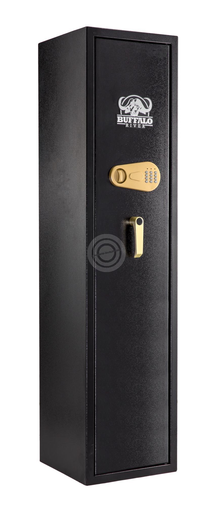 Coffre BUFFALO RIVER Digital Premium 7 armes avec lunettes (62kg)