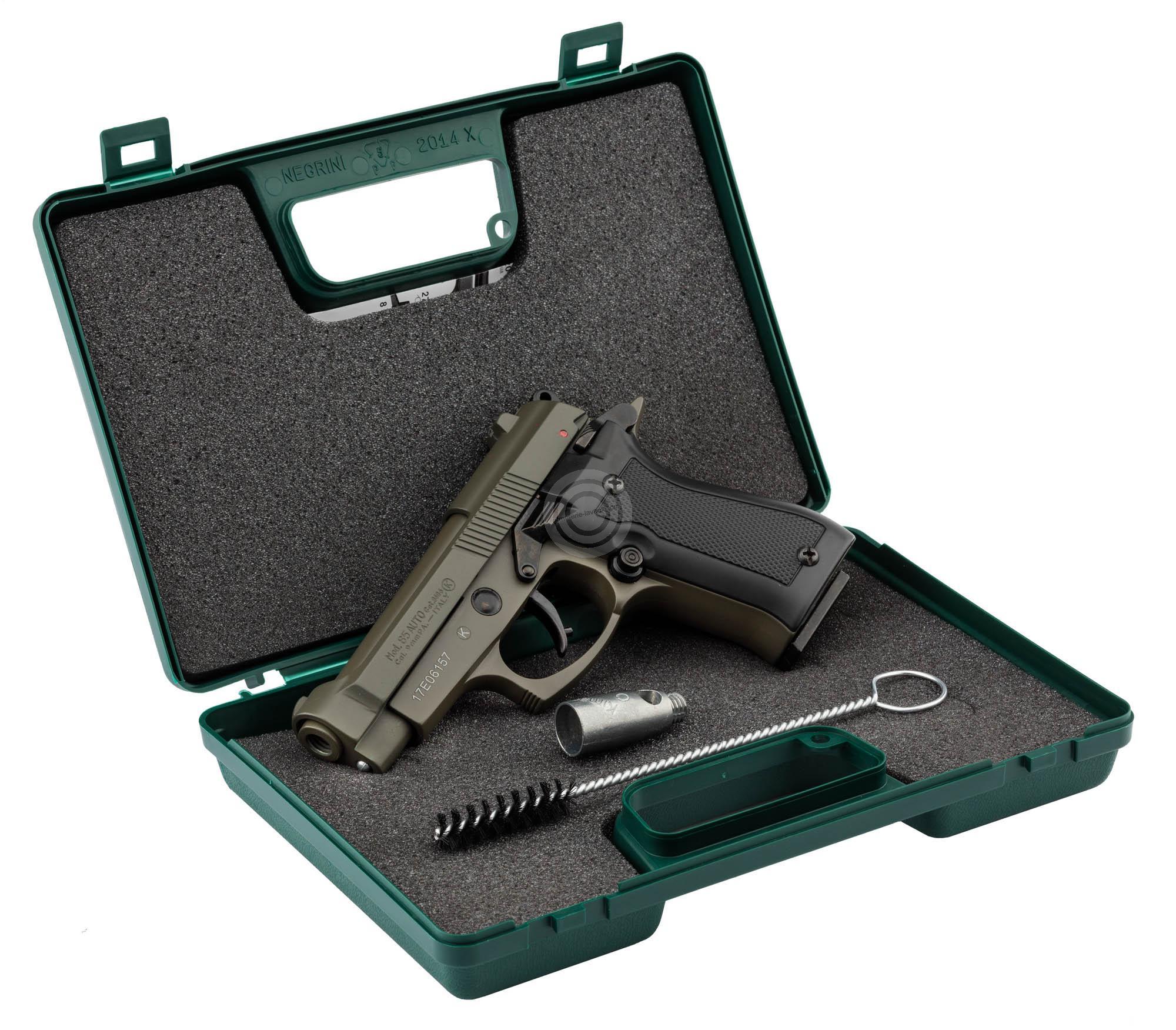 Pistolet d'alarme KIMAR 85 Auto OD Green Cal.9mm