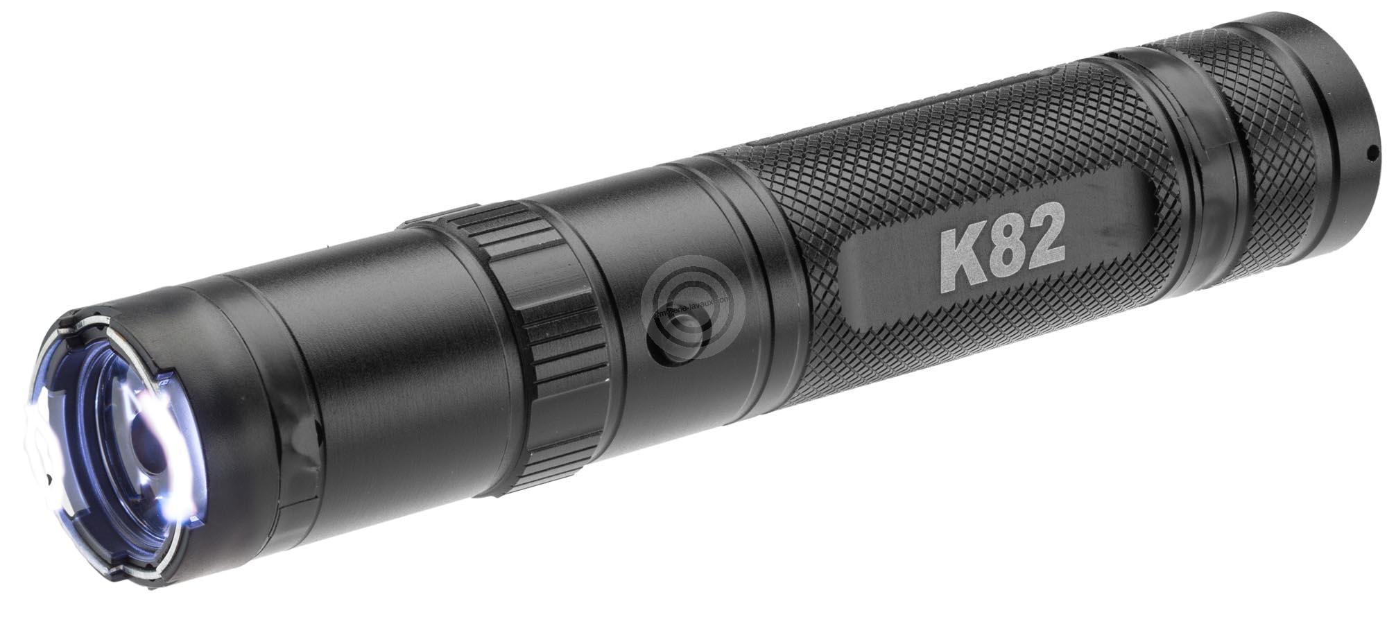 Lampe rechargeable CONCORDE K82 avec leds 230 Lumens 2 800 000 Volts
