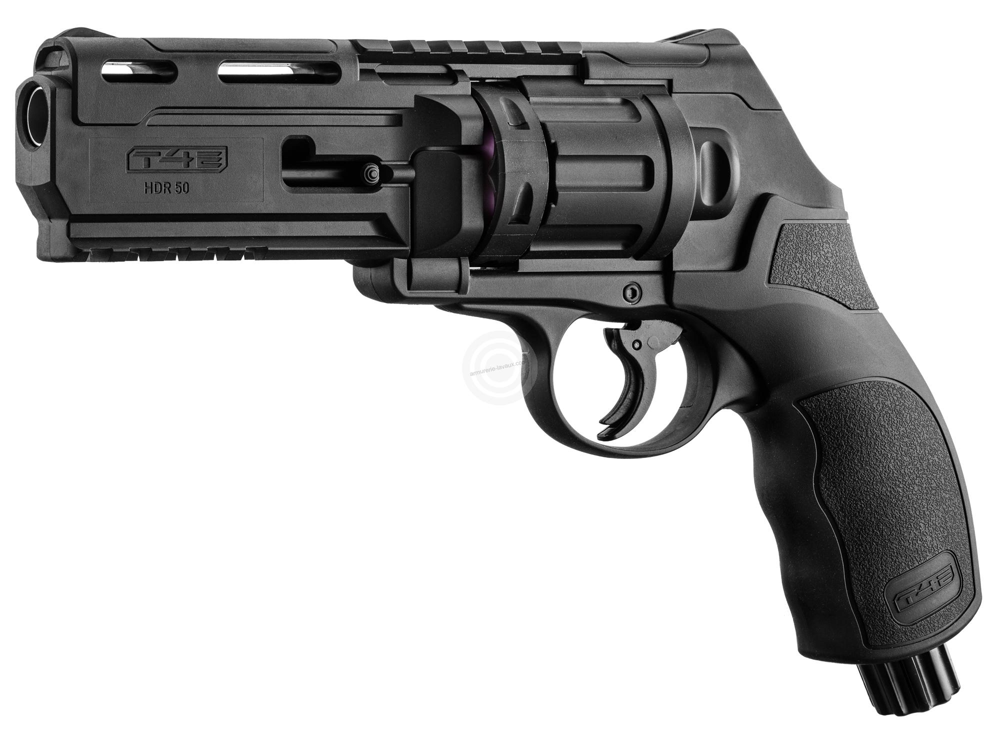 Revolver 6 coups WALTHER T4E HDR 50 cal.50 (11 joules) ''UMAREX''