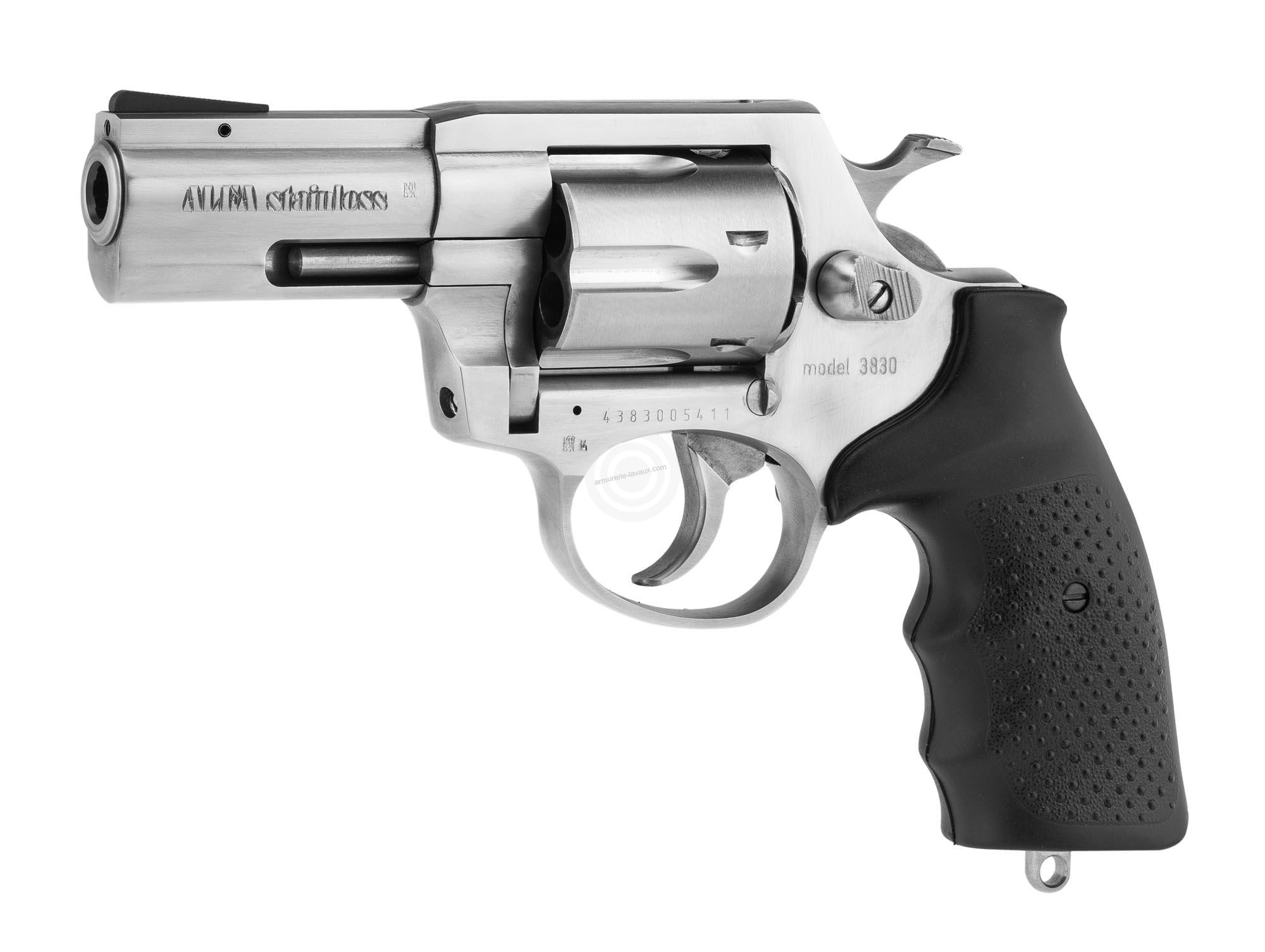 Revolver ALFA PROJ mod.3830 3'' inox cal.38 Spécial