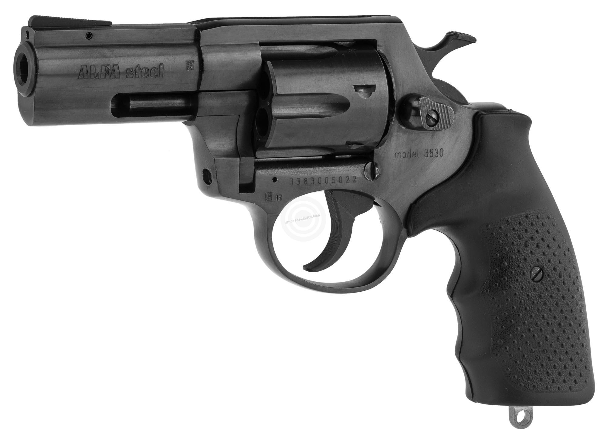 Revolver ALFA PROJ mod.3830 3'' bronzé cal.38 Spécial