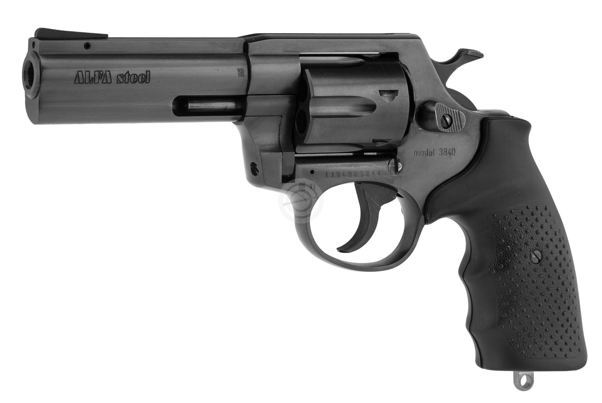 Revolver ALFA PROJ mod.3840 4'' bronzé cal.38 Spécial