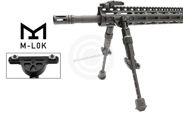 Bipied AR-15 UTG Fixation M-LOCK