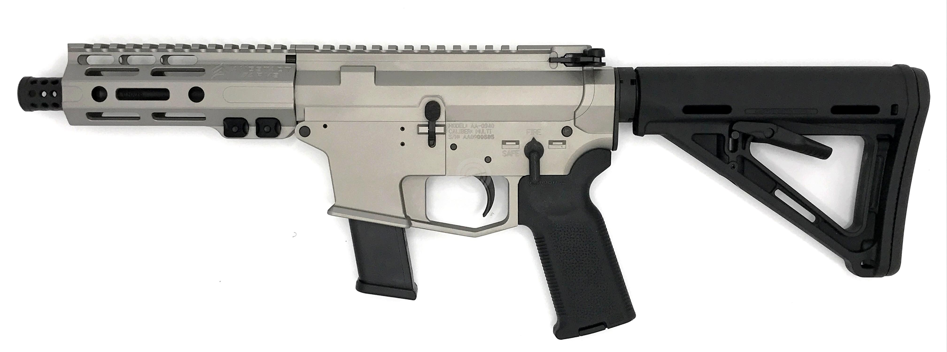 ANGSTADT ARMS UDP-9 SBR Titanium cal.9x19