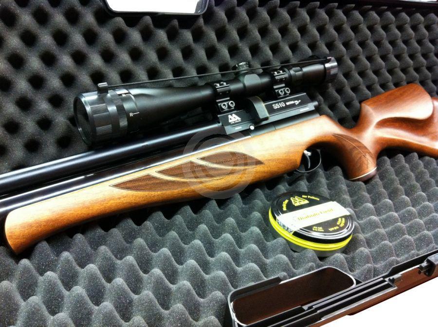 Carabine PCP AIR ARMS S510 SL Extra cal.4,5mm ''Pack SNIPER'' LYNX Varmint 6-24x42 AO