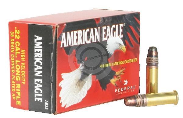 FEDERAL 22 Lr American Eagle HP /40