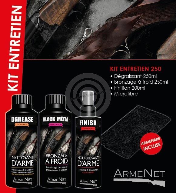 Kit produit d'entretien 250 ARMENET