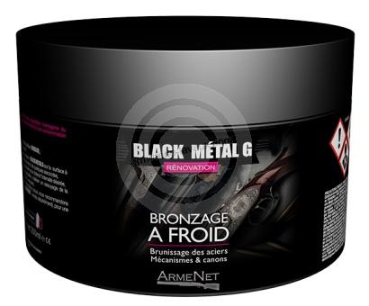 Bronzage à froid BLACK METAL GEL ARMENET 100ml