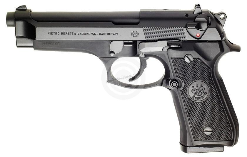Pistolet BERETTA 92FS calibre 9x19  Parabellum