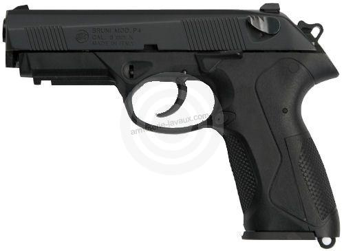 Pistolet d'alarme BRUNI PK4 Bronzé cal.9mm