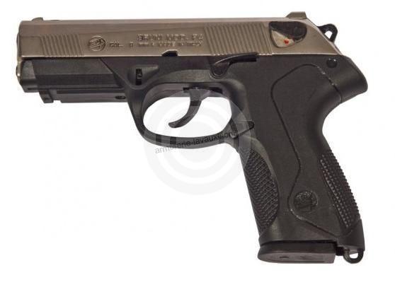 Pistolet BRUNI PK4 Nickelé cal.9mm
