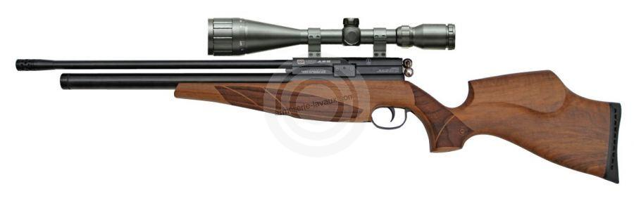Carabine PCP BSA Scorpion SE Beech cal.5,5mm ''LYNX Varmint 6-24x42 AO'' Full Power