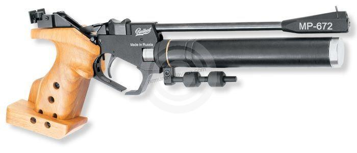 Pistolet de compétition BAIKAL IZH MP 672 cal.4,5mm Droitier