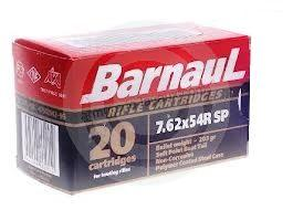 BARNAUL cal.7.62x54 R Soft Point