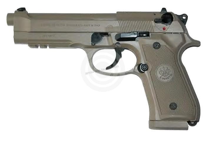 Pistolet BERETTA M9A1 US SOCOM TAN calibre 9x19