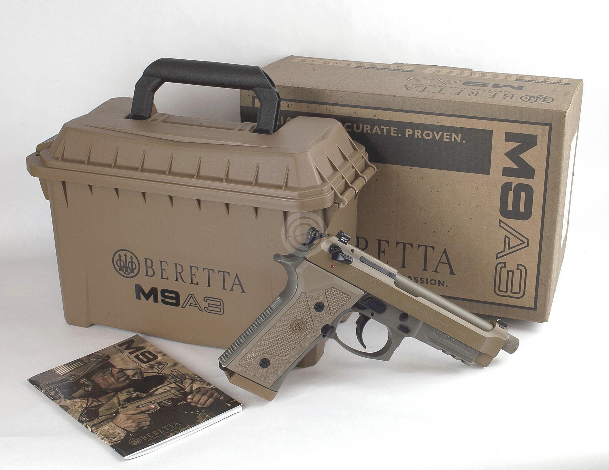 Pistolet BERETTA M9A3 calibre 9x19