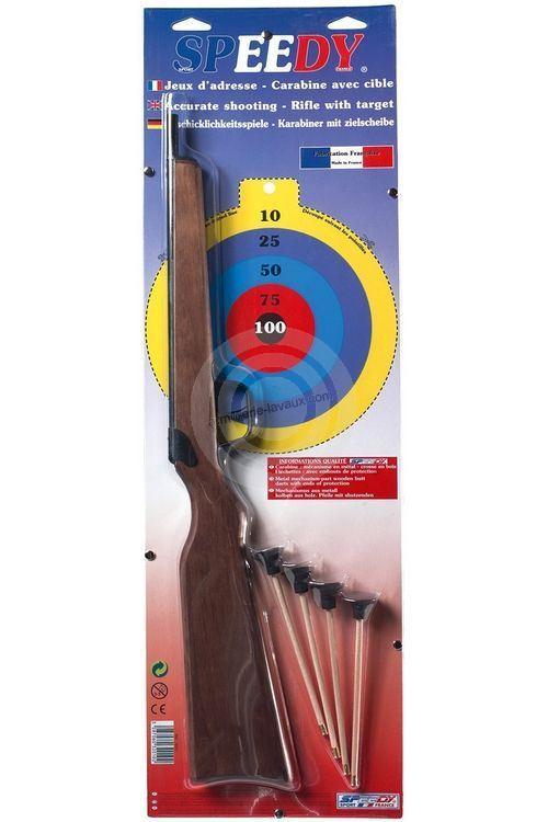 Fusil à flèchettes 1 coups SPEEDY
