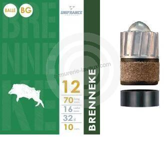 Balles Unifrance BRENNEKE cal.12 (boite de 10)