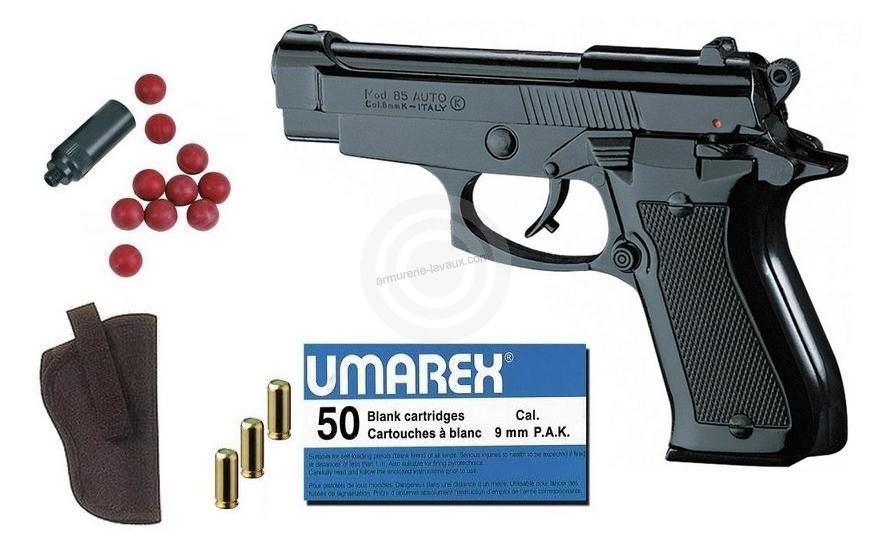 Kit Défense Pistolet KIMAR 85 Auto Bronzé Cal.9mm