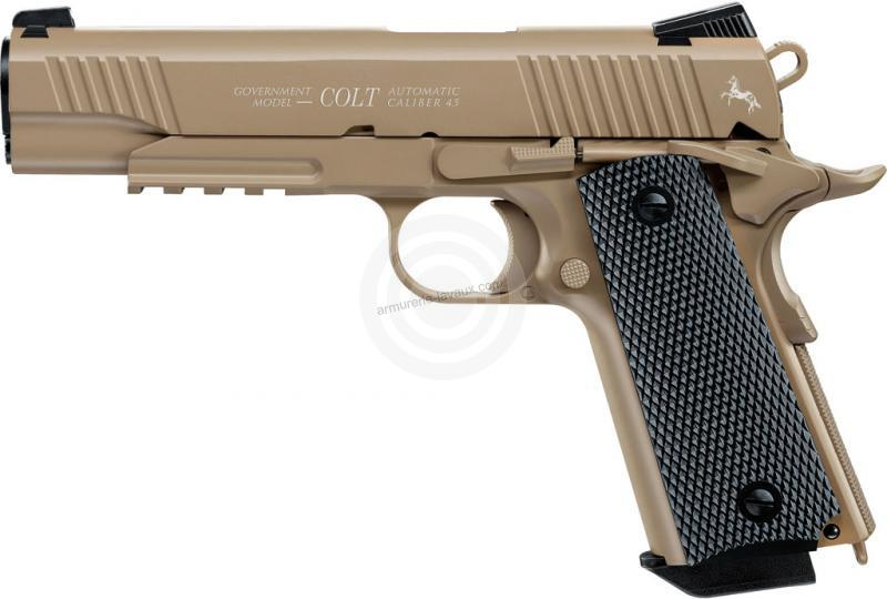 Pistolet COLT M45 CQBP FDE UMAREX cal.4.5mm BBS