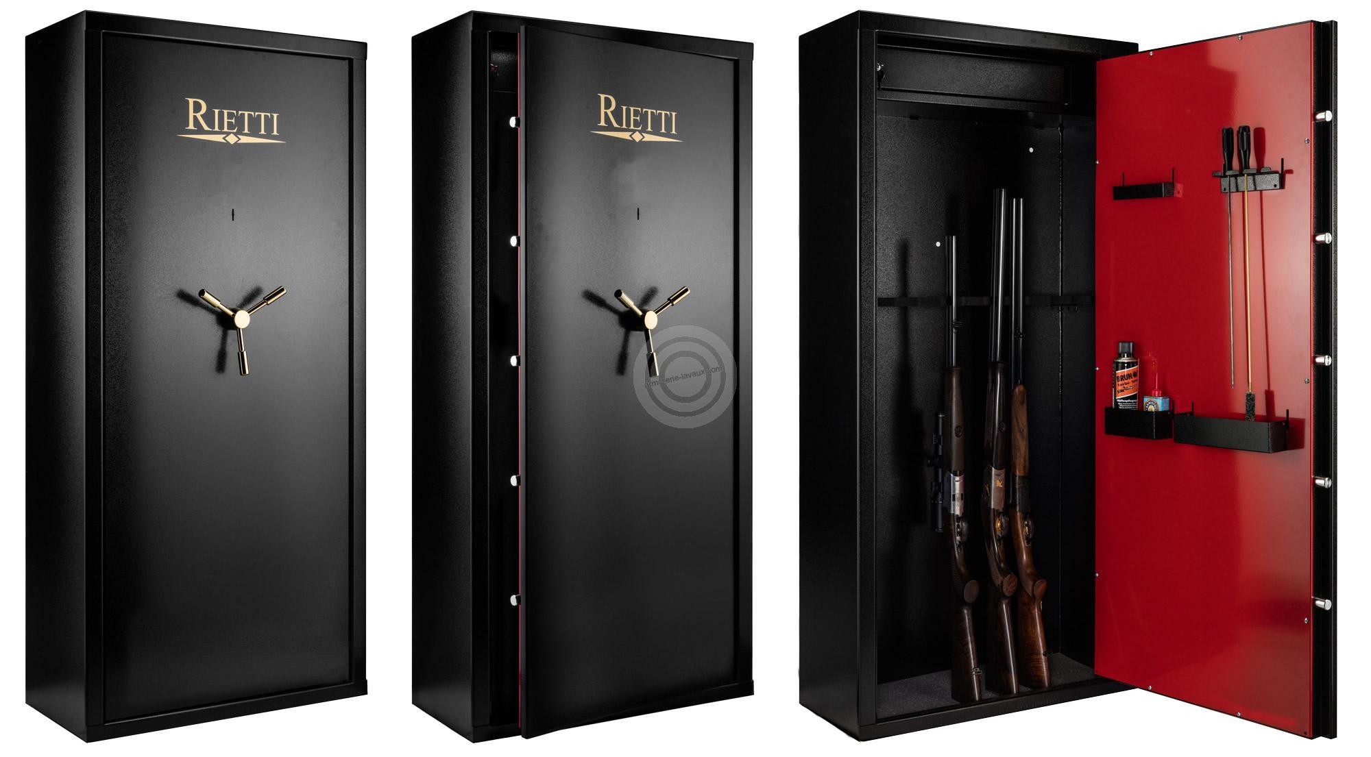 Coffre pour armes RIETTI First 83kg (12 armes)