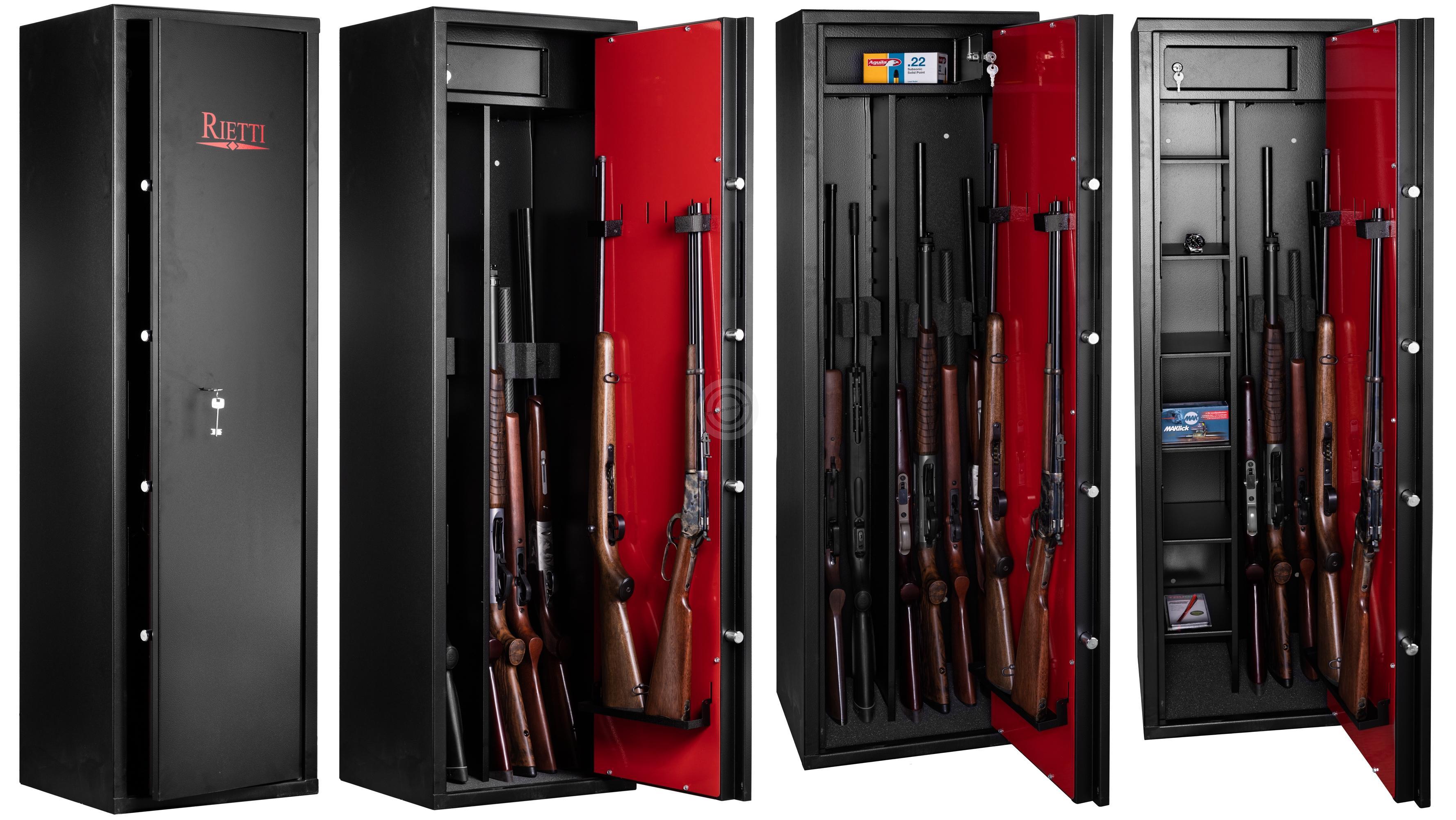 Coffre pour armes RIETTI First 70kg (9 modulables armes)