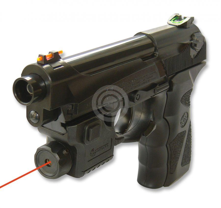 Pistolet CROSMAN C31 TACTICAL avec laser cal.4,5mm