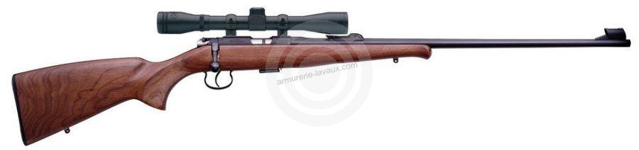 Carabine 22LR CZ 452 Luxe avec lunette BAUER 3-9x40
