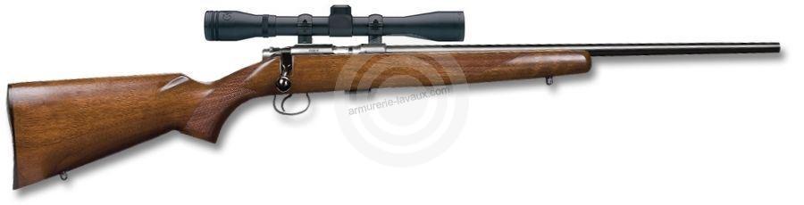 Carabine 22LR CZ 455 American avec lunette BAUER 3-9x40