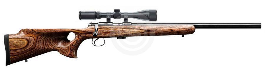 Carabine 17HMR CZ 455 Varmint THUMBHOLE avec lunette LYNX Varmint 6-24x42 AO